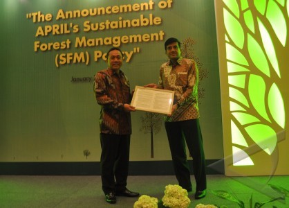 Announcement of APRIL's Sustainable Forest Management Policy Event