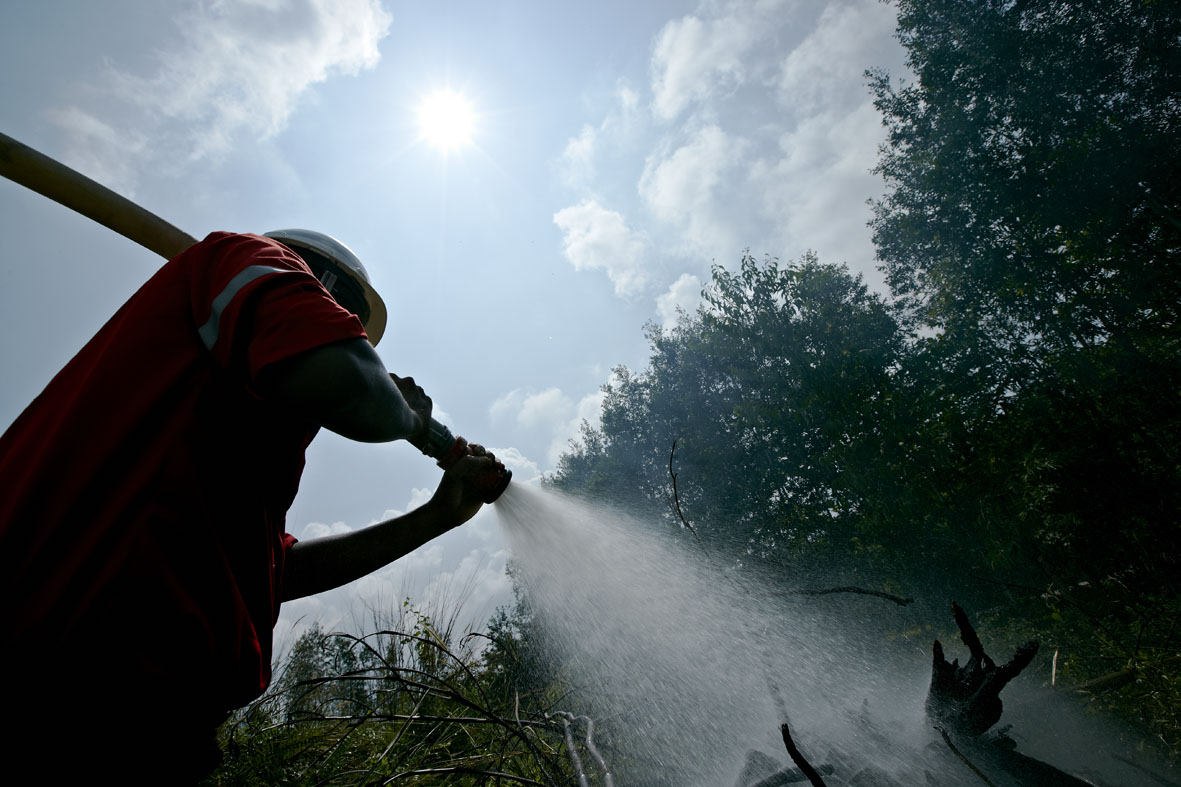APRIL has deployed more than 300 fires already in 2014 to combat blazes near its concessions.
