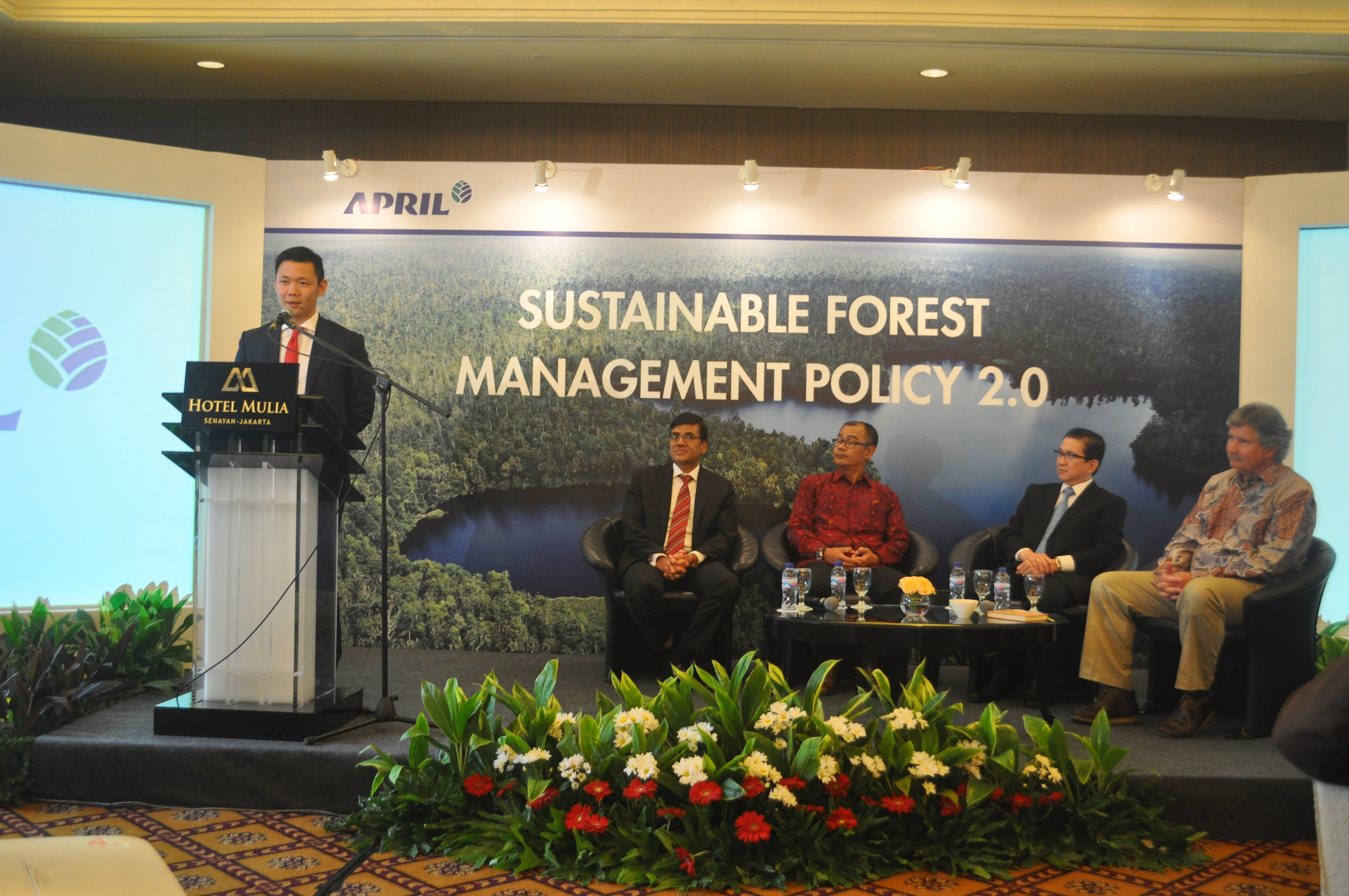 Anderson Tanoto speaks at the SFMP 2.0 event